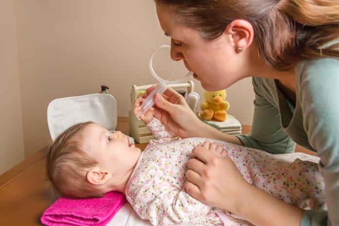 Bebeklerde Burun Tıkanıklığı - Bebeklerde Hırıltı